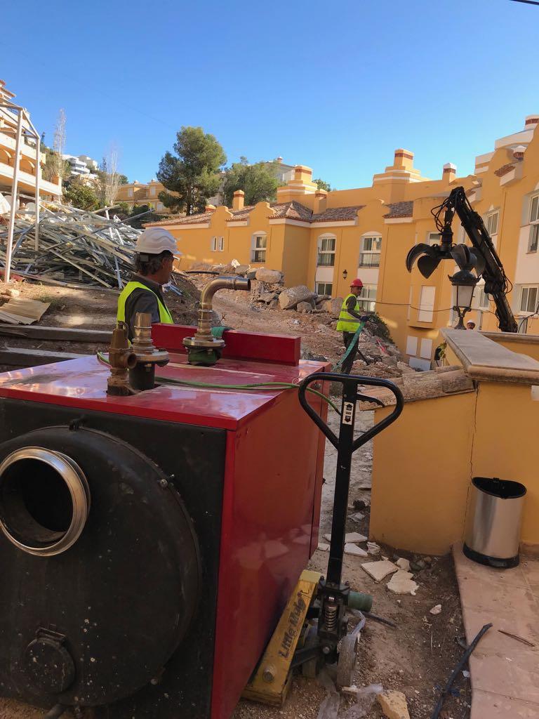 retirada maquinas aire acondicionado en altea hills hotel por union-met 6