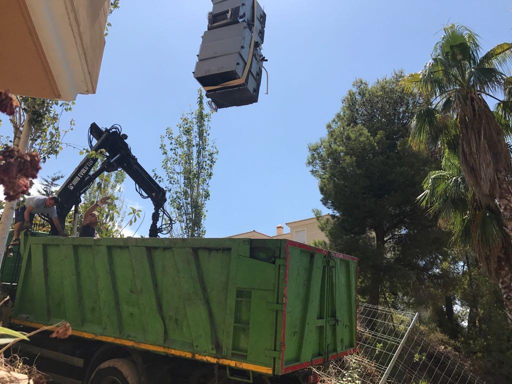 retirada maquinas aire acondicionado en altea hills hotel por union-met 5
