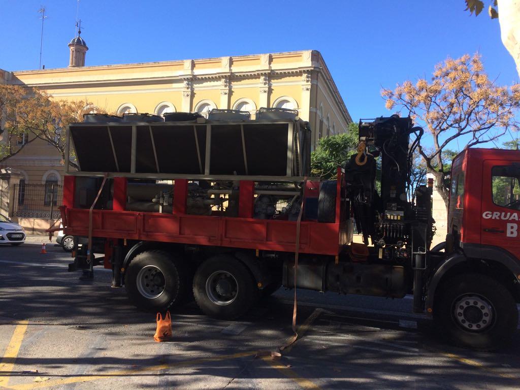 retirada maquinas aire acondicionado en altea hills hotel por union-met 4