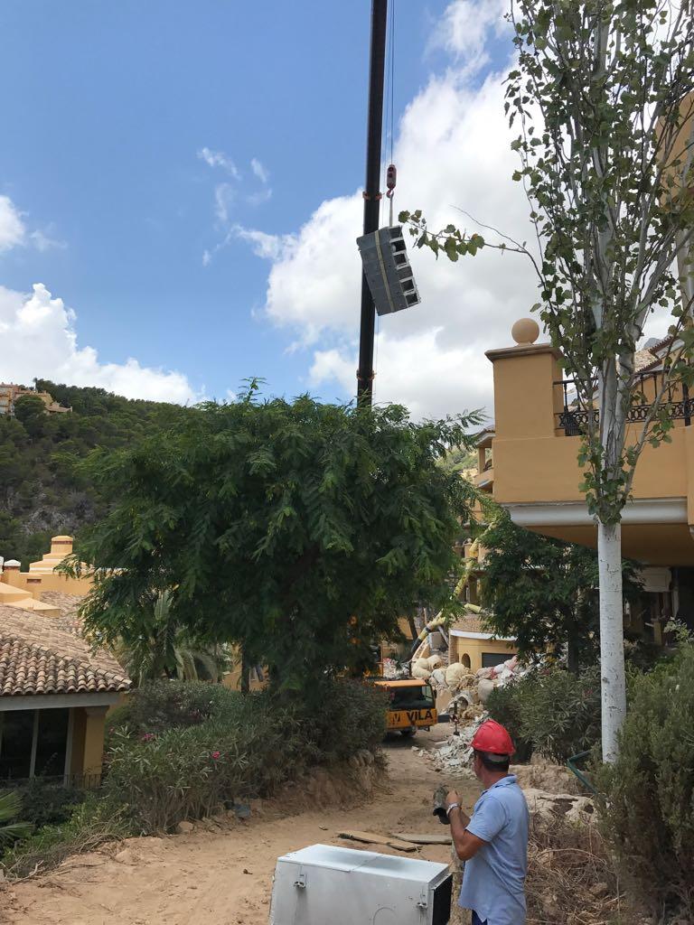 retirada maquinas aire acondicionado en altea hills hotel por union-met 1